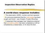 inspection observation replies26