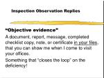 inspection observation replies28