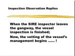 inspection observation replies5