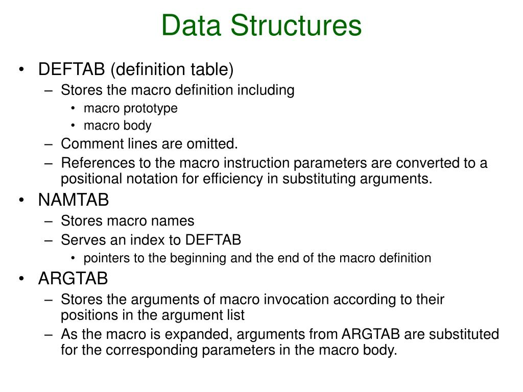 Data Structures