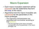 macro expansion