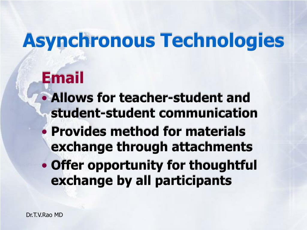 Asynchronous Technologies