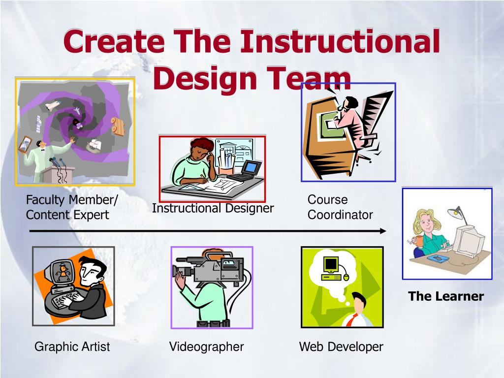 Create The Instructional Design Team