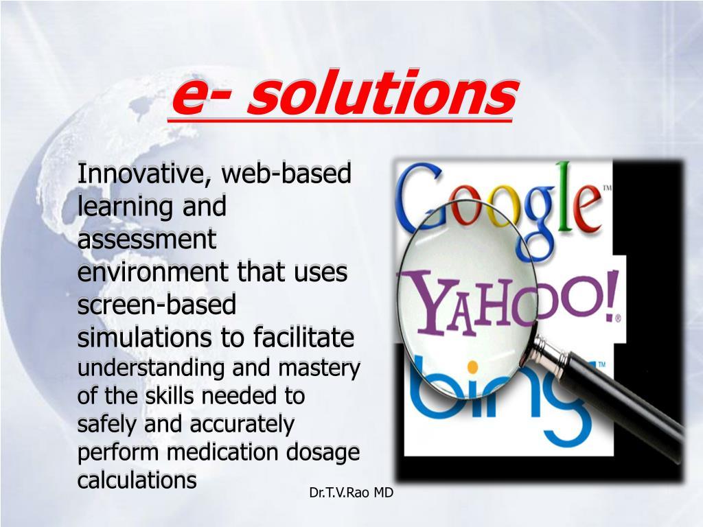 e- solutions