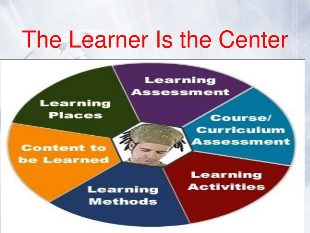 The Learner Is the Center