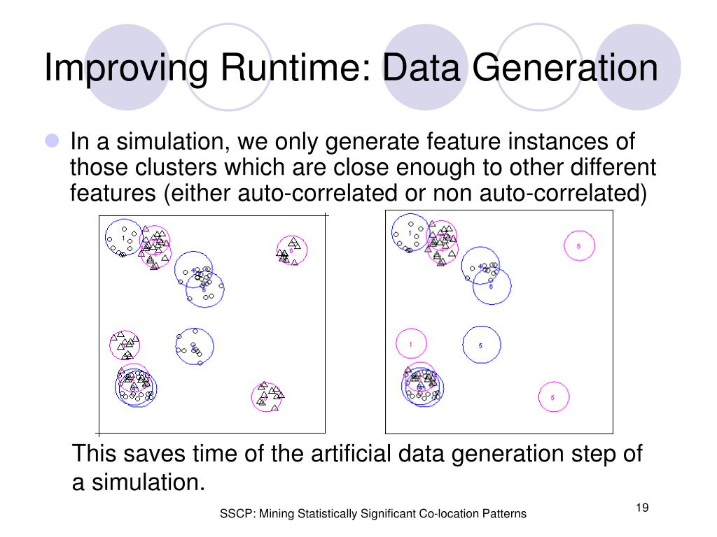 Improving Runtime: Data Generation