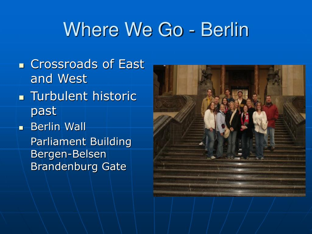 Where We Go - Berlin
