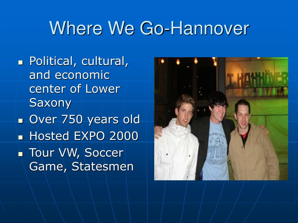 Where We Go-Hannover