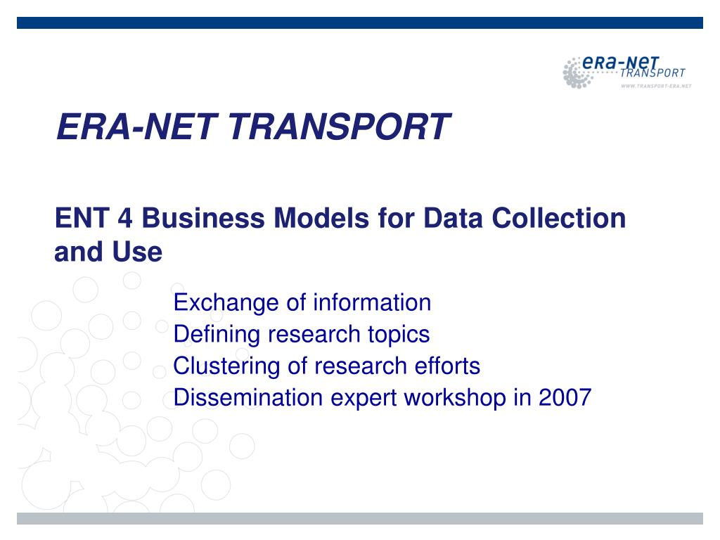 ERA-NET TRANSPORT
