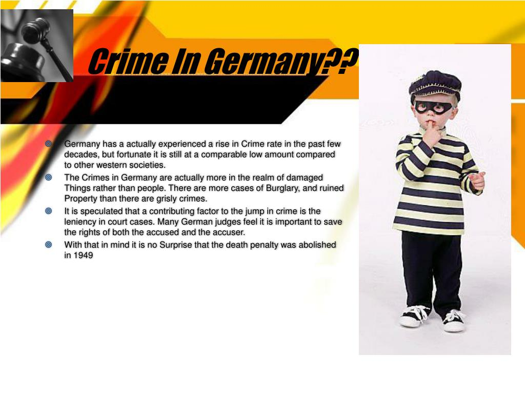 Crime In Germany??