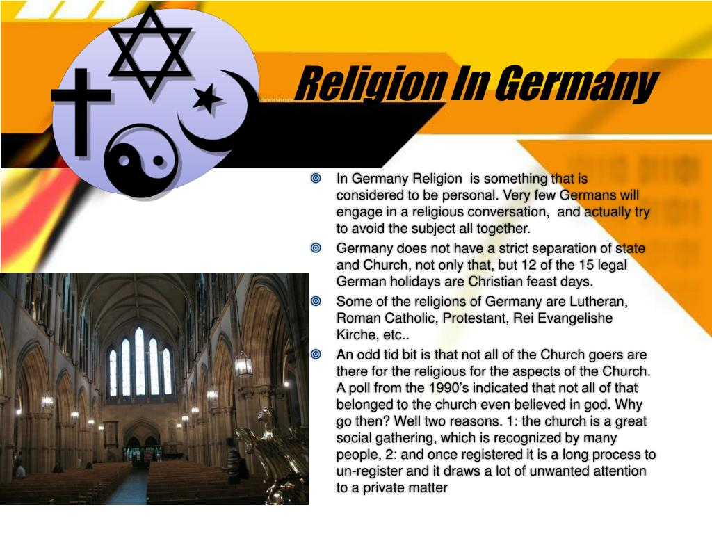 Religion In Germany