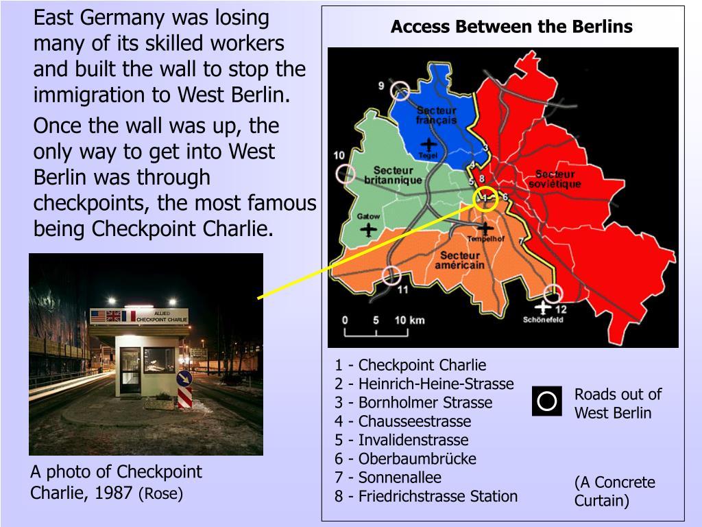 Access Between the Berlins