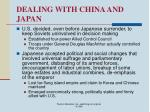 dealing with china and japan21