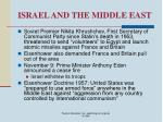 israel and the middle east55