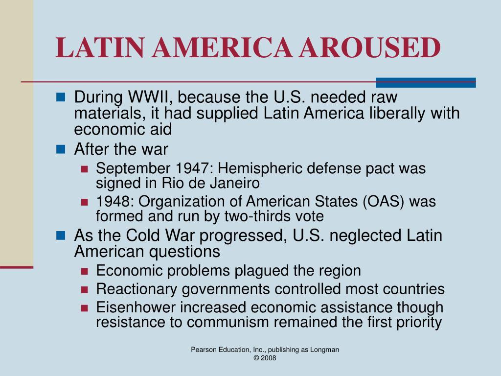 LATIN AMERICA AROUSED