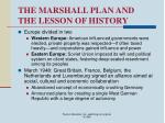 the marshall plan and the lesson of history16
