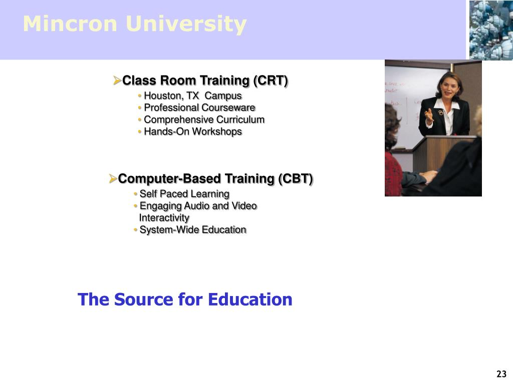Mincron University