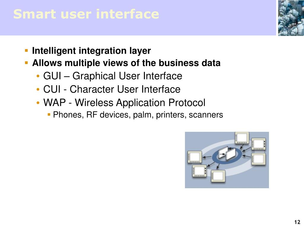 Smart user interface