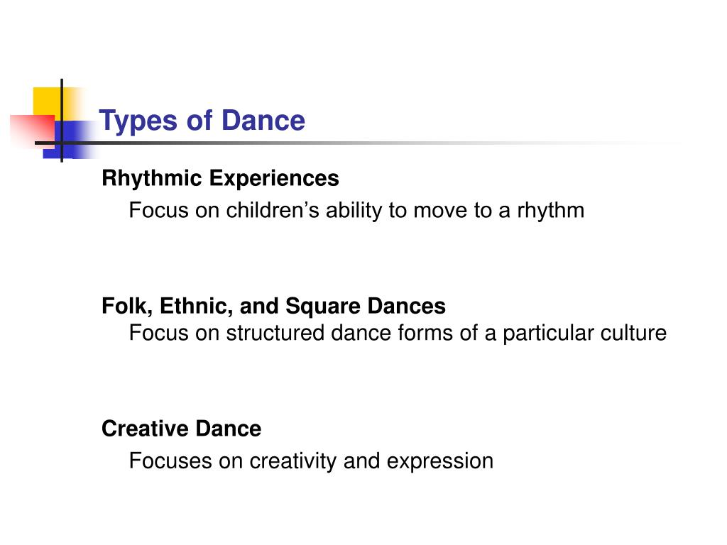 Types of Dance