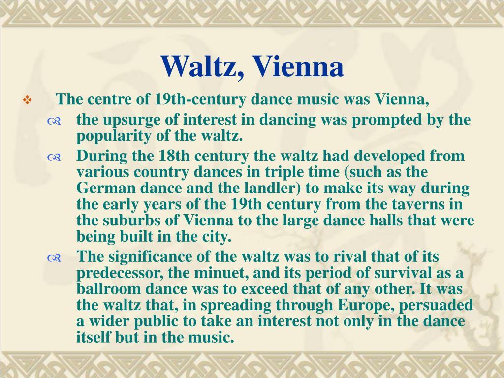 Waltz, Vienna