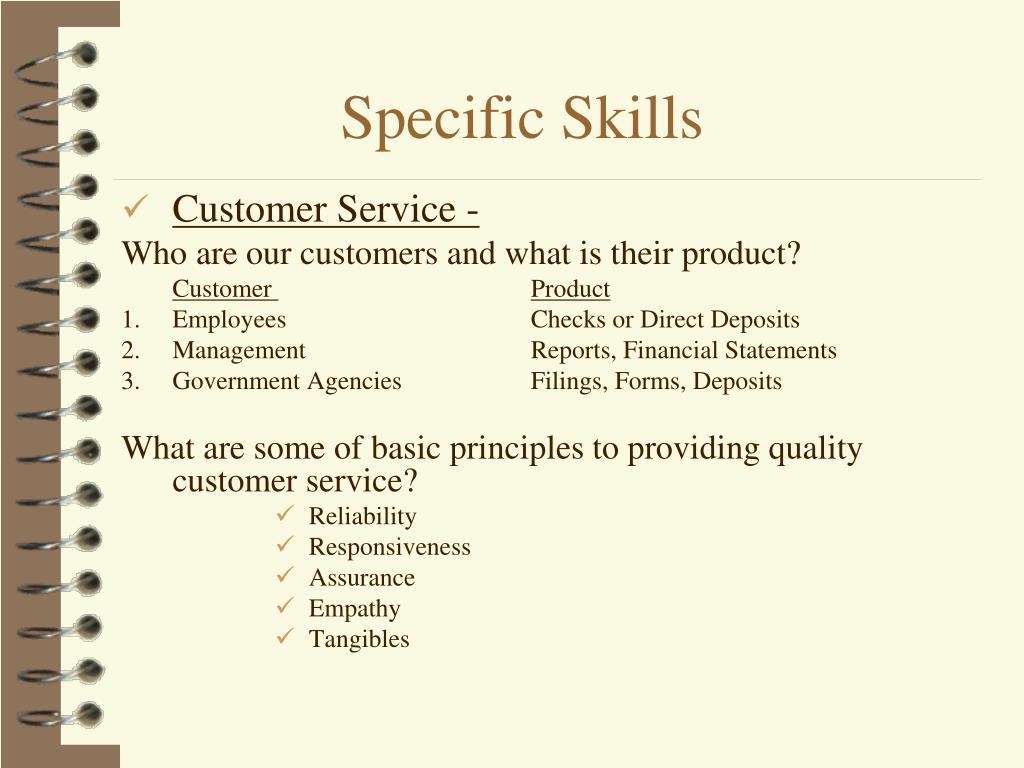 Customer Service -