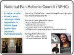 national pan hellenic council nphc