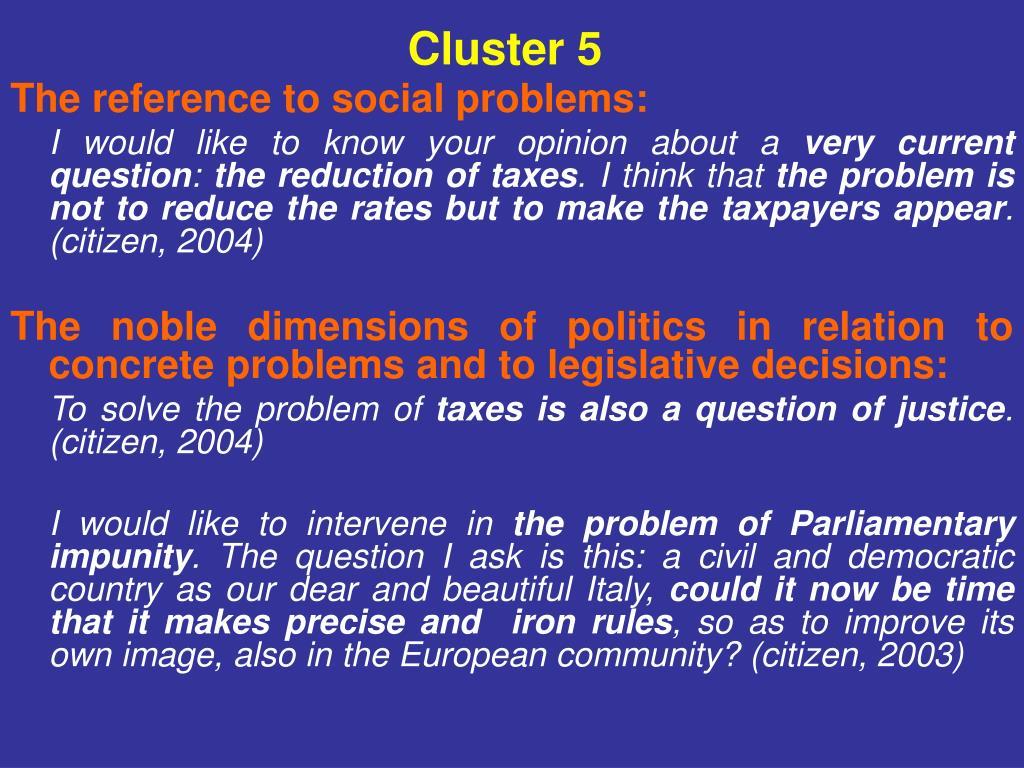 Cluster 5