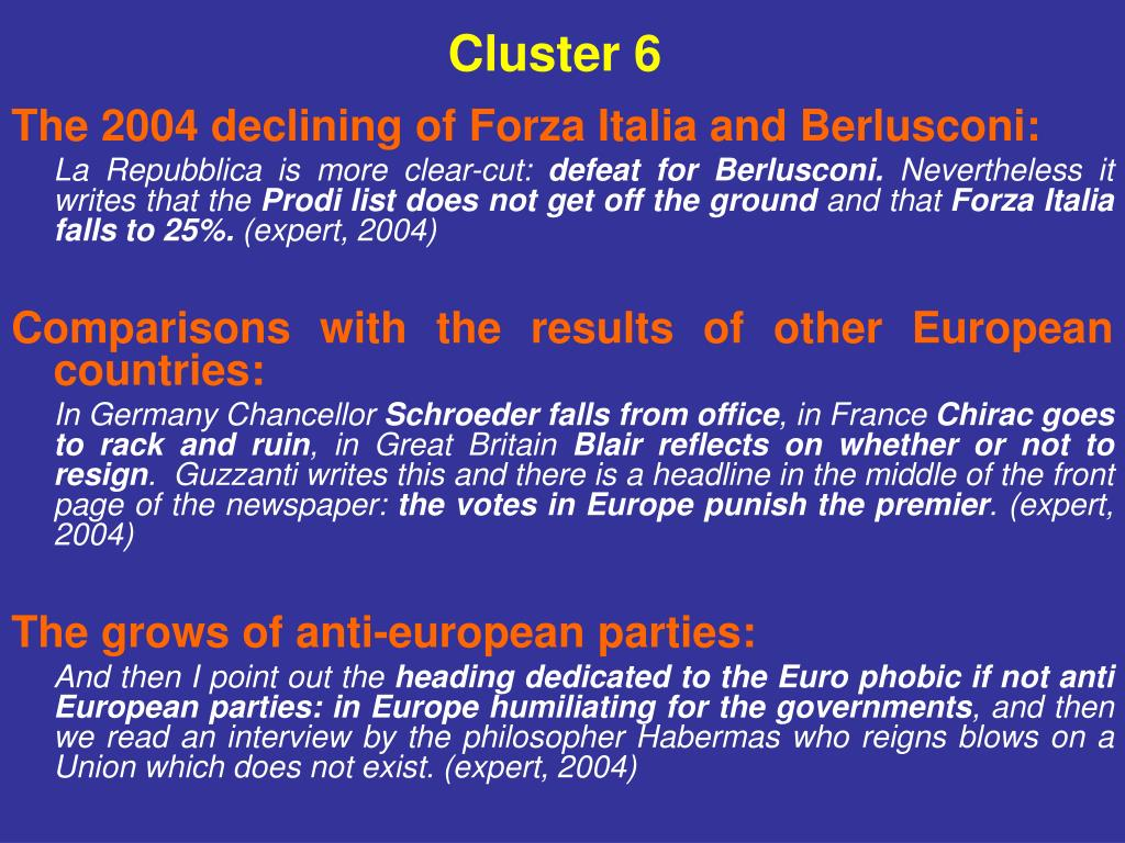 Cluster 6