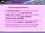 5 39 compound tenses