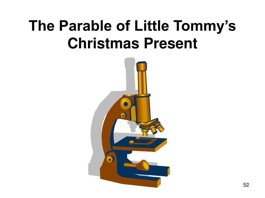 The Parable of Little Tommy's Christmas Present