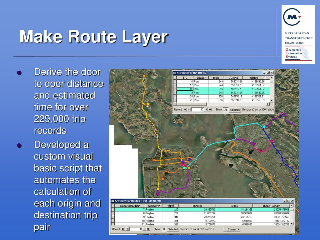 Make Route Layer