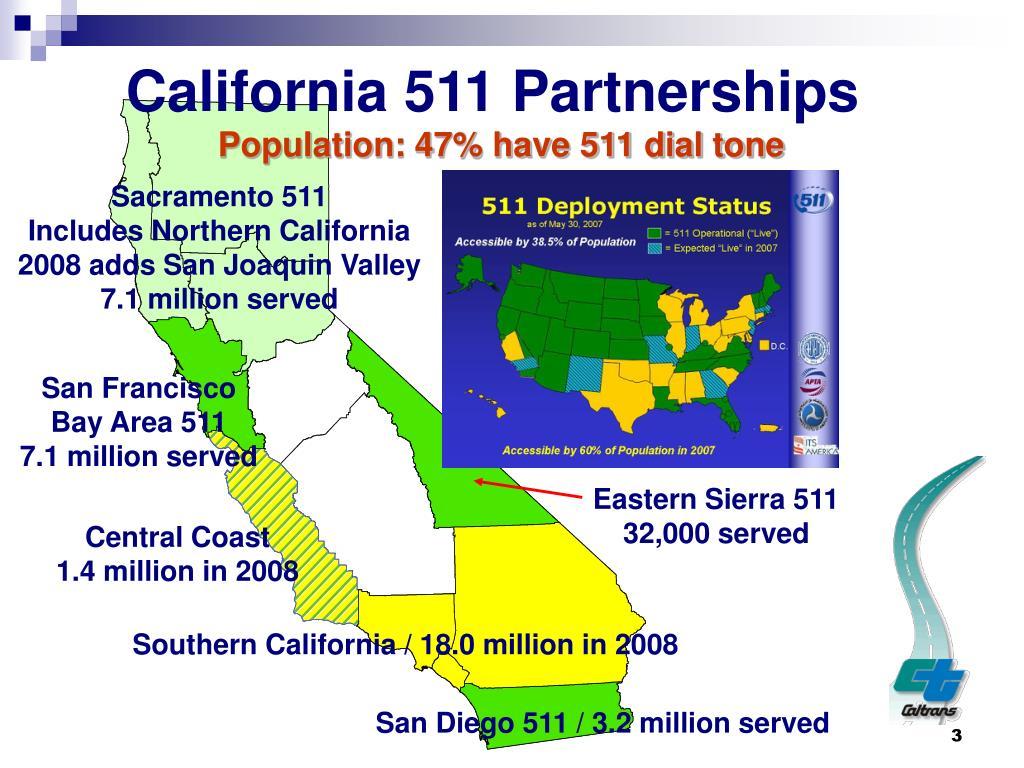 California 511 Partnerships