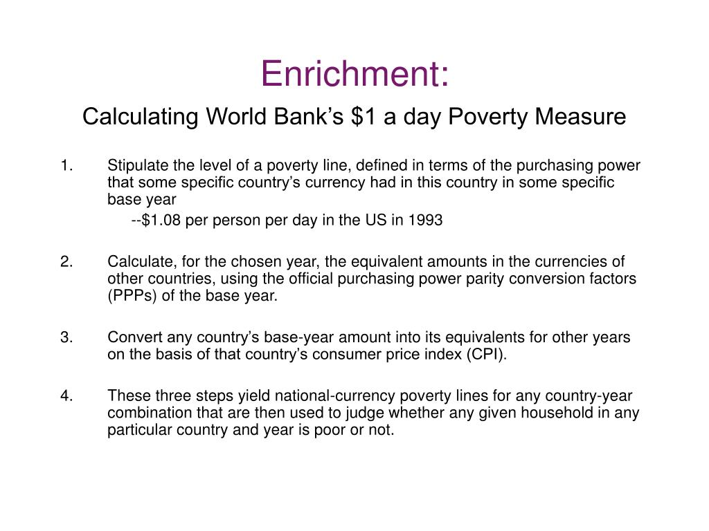 Enrichment: