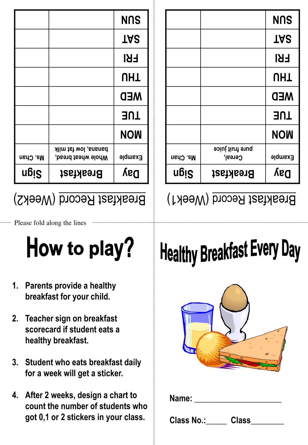 Breakfast Record