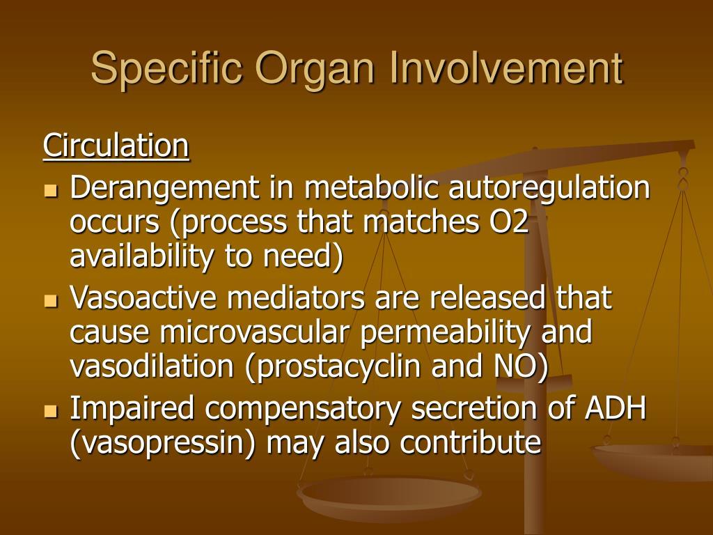 Specific Organ Involvement