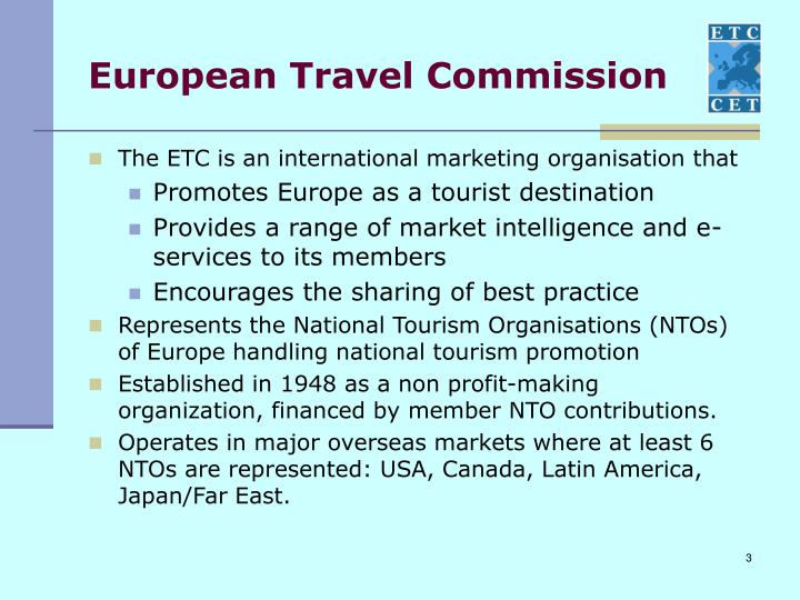 European travel commission
