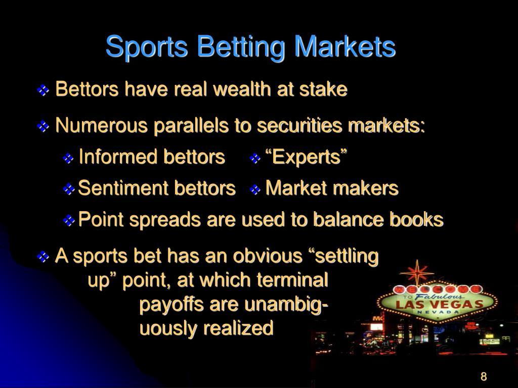 Sports Betting Markets