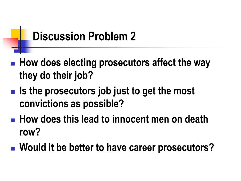 Discussion Problem 2