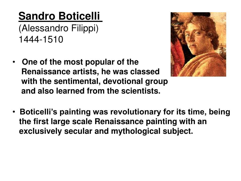 Sandro Boticelli