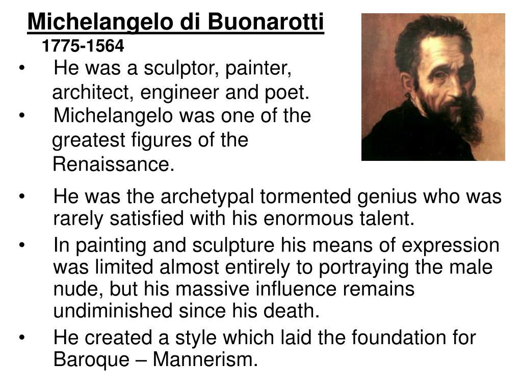 Michelangelo di Buonarotti