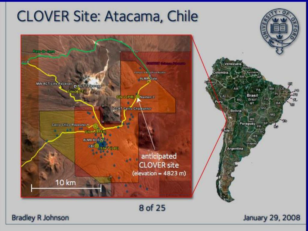 Atacama:  ACT Site