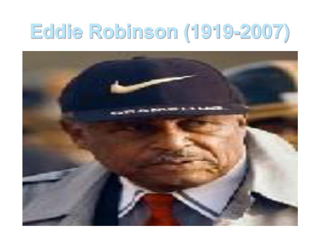 eddie robinson 1919 2007