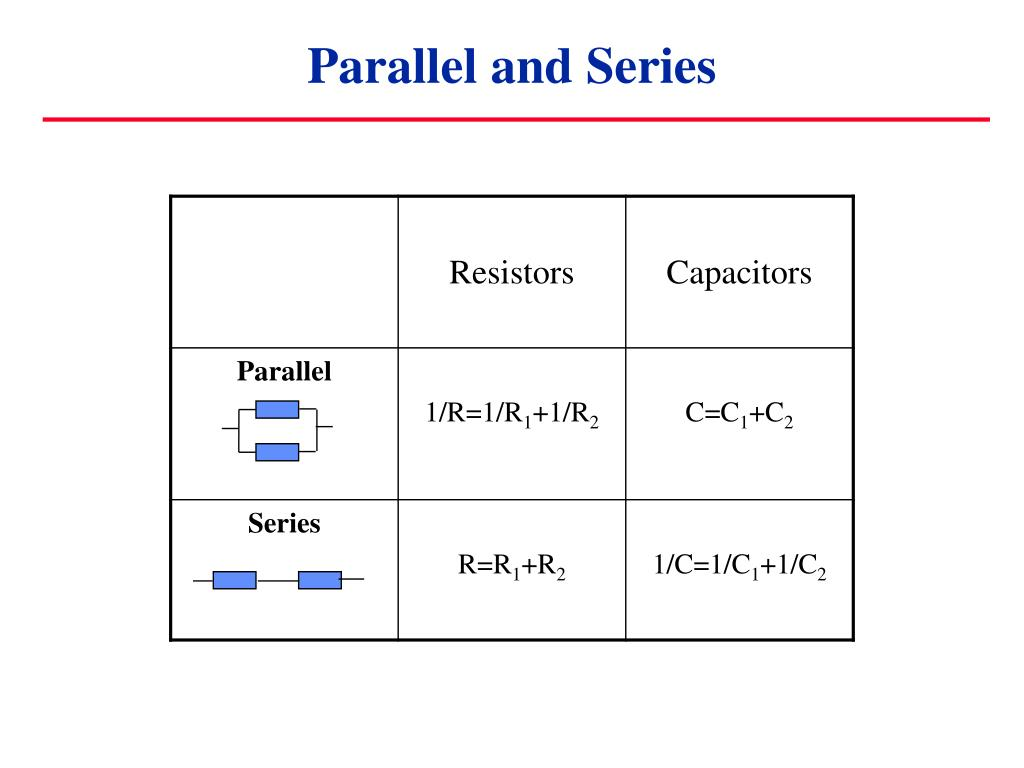 Difference Between Parallel And Series Circuits Pdf Everything Circuit The A Capacitor In 28 Wiring Examples