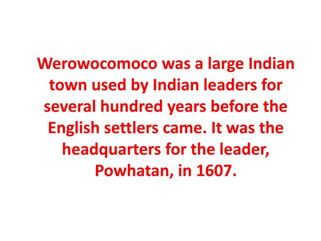 Werowocomoco
