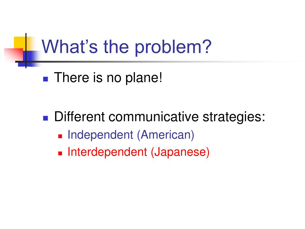 What's the problem?