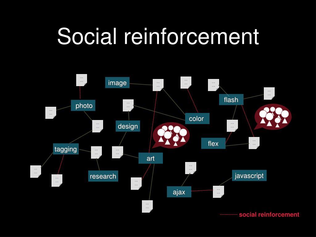 Social reinforcement