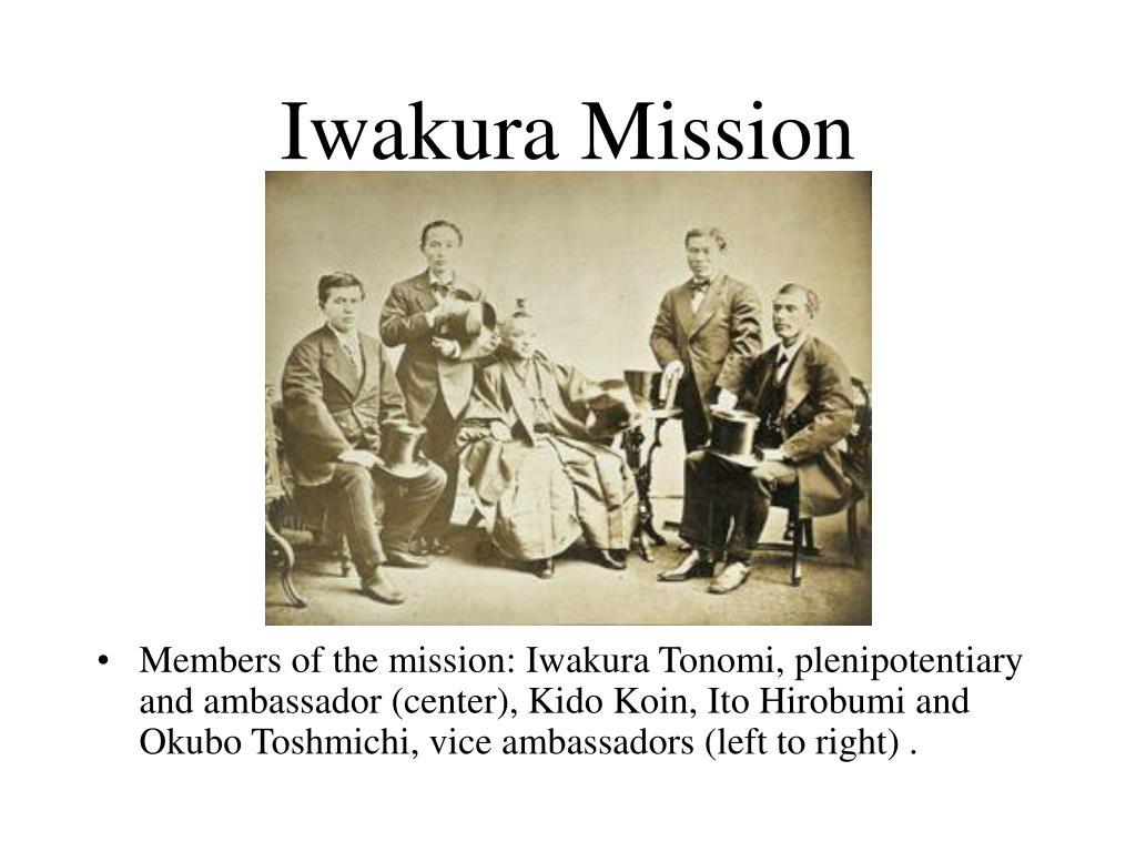 Iwakura Mission
