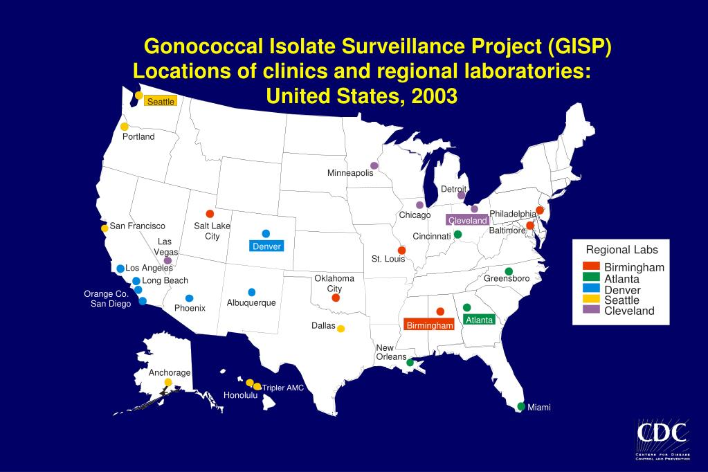 Gonococcal Isolate Surveillance Project (GISP)