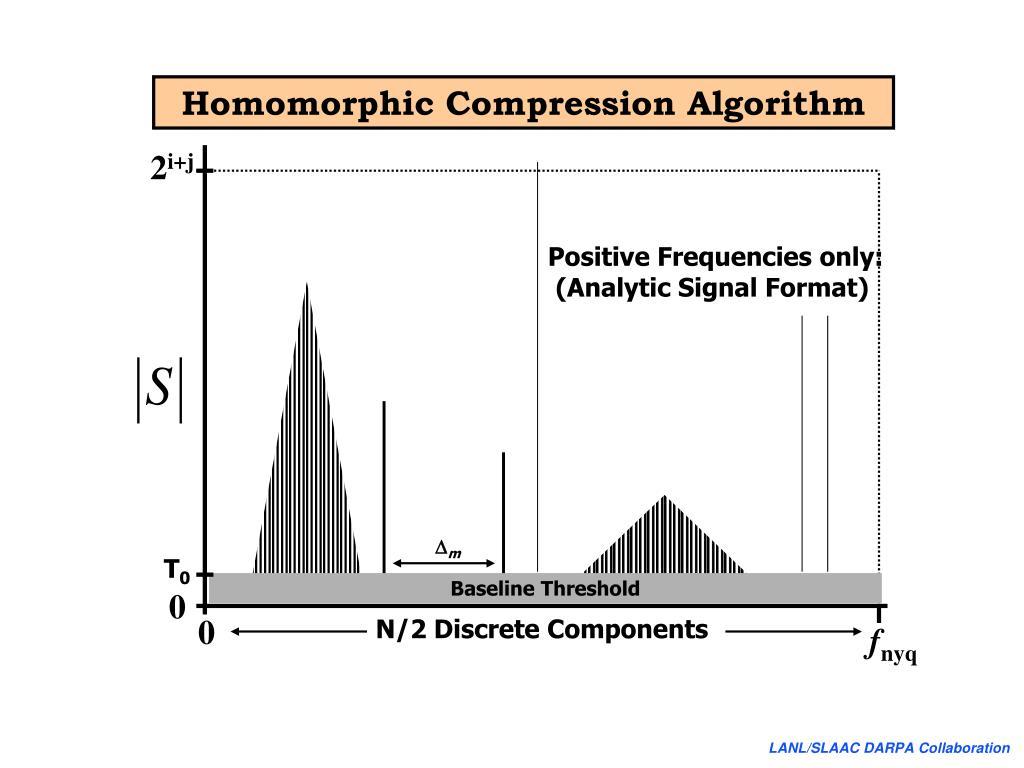 Homomorphic Compression Algorithm