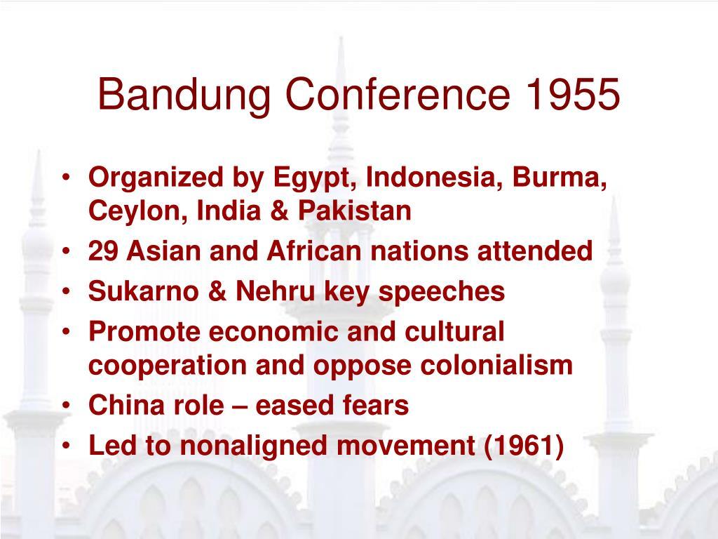 Bandung Conference 1955